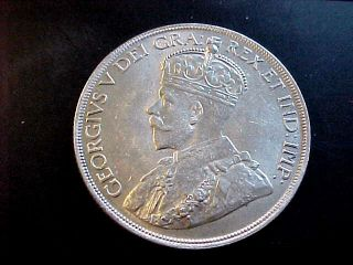 1936 Canada Silver Dollar Coin Ms Bu Unc +++ Buy It Now Of Offer photo