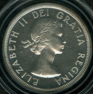 1954 Canada $1 Dollar Pcgs Pl66 Cameo Rare Only 3,  000 Minted. photo