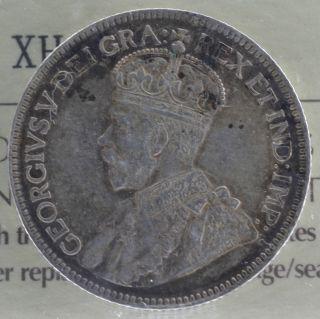 1933 Canadian Silver Quarter