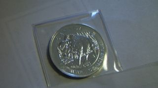 Canada 1oz Fine Silver Argent Pur Bison Coin photo