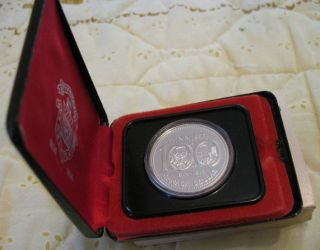 1 1974 Canadian Silver Proof Dollar In Case With Sleeve photo