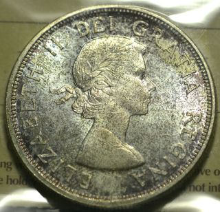 1964 Dollar ($1) Iccs Ms - 65 Pq+ Toning Wow photo