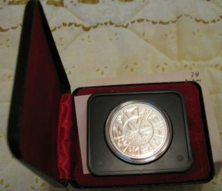 1 1978 Canadian Silver Proof Dollar In Case With Sleeve photo
