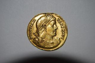 Jovian,  363 - 364 Ad (av 4.  07g 20.  9mm) Antioch Rare Vf photo