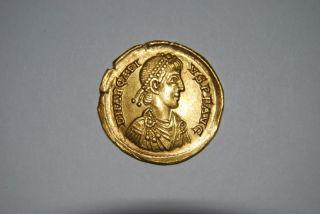 Arcadius,  383 - 408 Ad (av 4.  45g 20.  3mm) Mediolanum Ef photo