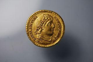 Valentinian I,  364 - 375 Ad.  (av 4.  26g 20mm 6h) Treveri/trier Ef photo