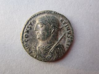 Constantinus I 301 - 337 Ad Rare Authentic Ancient Bronze Coin photo