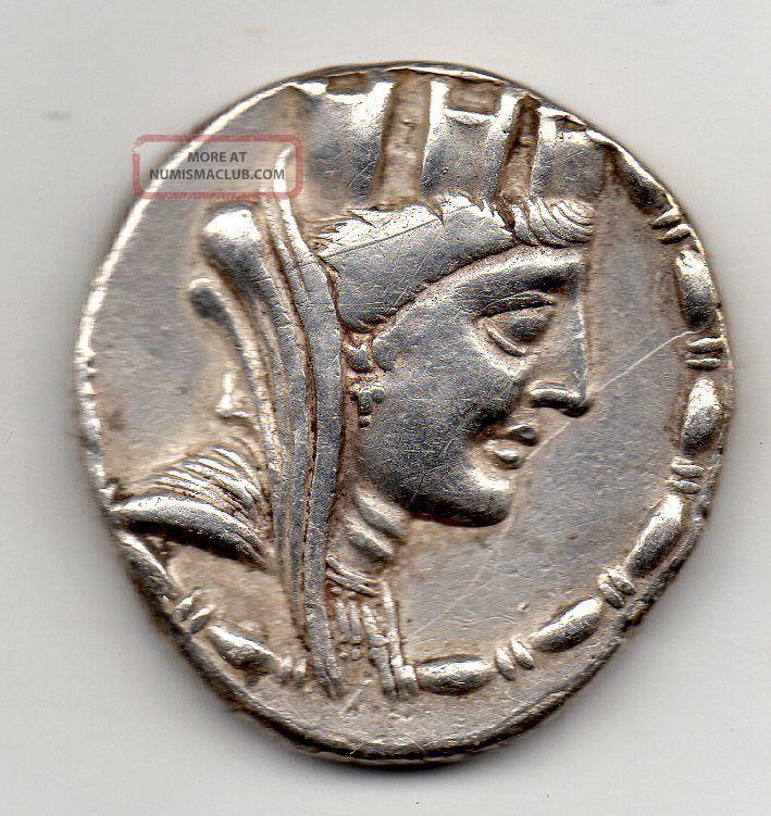 Ancient Greek,  Tetradrachm,  Seleukis And Pieria,  Laodikeia Ad Mare,  58 - 57 Bc Coins: Ancient photo