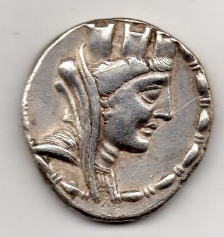 Ancient Greek,  Tetradrachm,  Seleukis And Pieria,  Laodikeia Ad Mare,  58 - 57 Bc photo