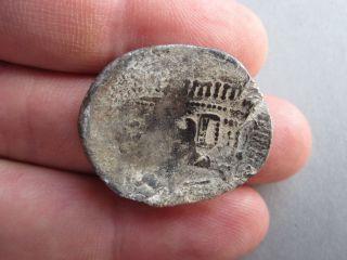 Ancient Authentic Celtic Silver Tetradrachm Coin photo