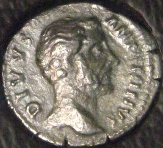 Aft.  161 Ad Icg F12 Antoninus Pius - Posthumous Roman Ar Denarius Consecratio Bf photo