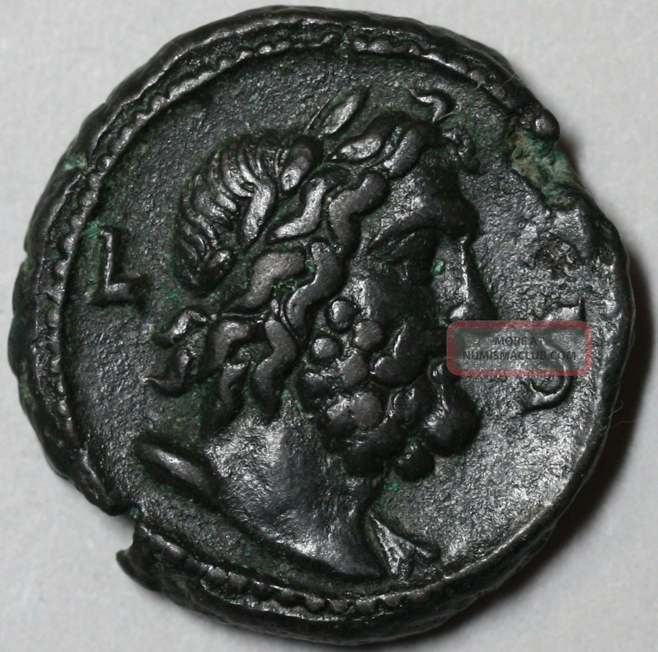 258 Valerian I Roman Egypt Zeus Bust Tetradrachm Year 6 (ex Cng) Ancient Coin Coins: Ancient photo