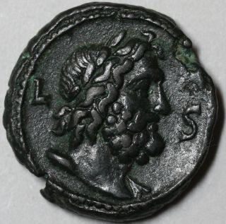 258 Valerian I Roman Egypt Zeus Bust Tetradrachm Year 6 (ex Cng) Ancient Coin photo