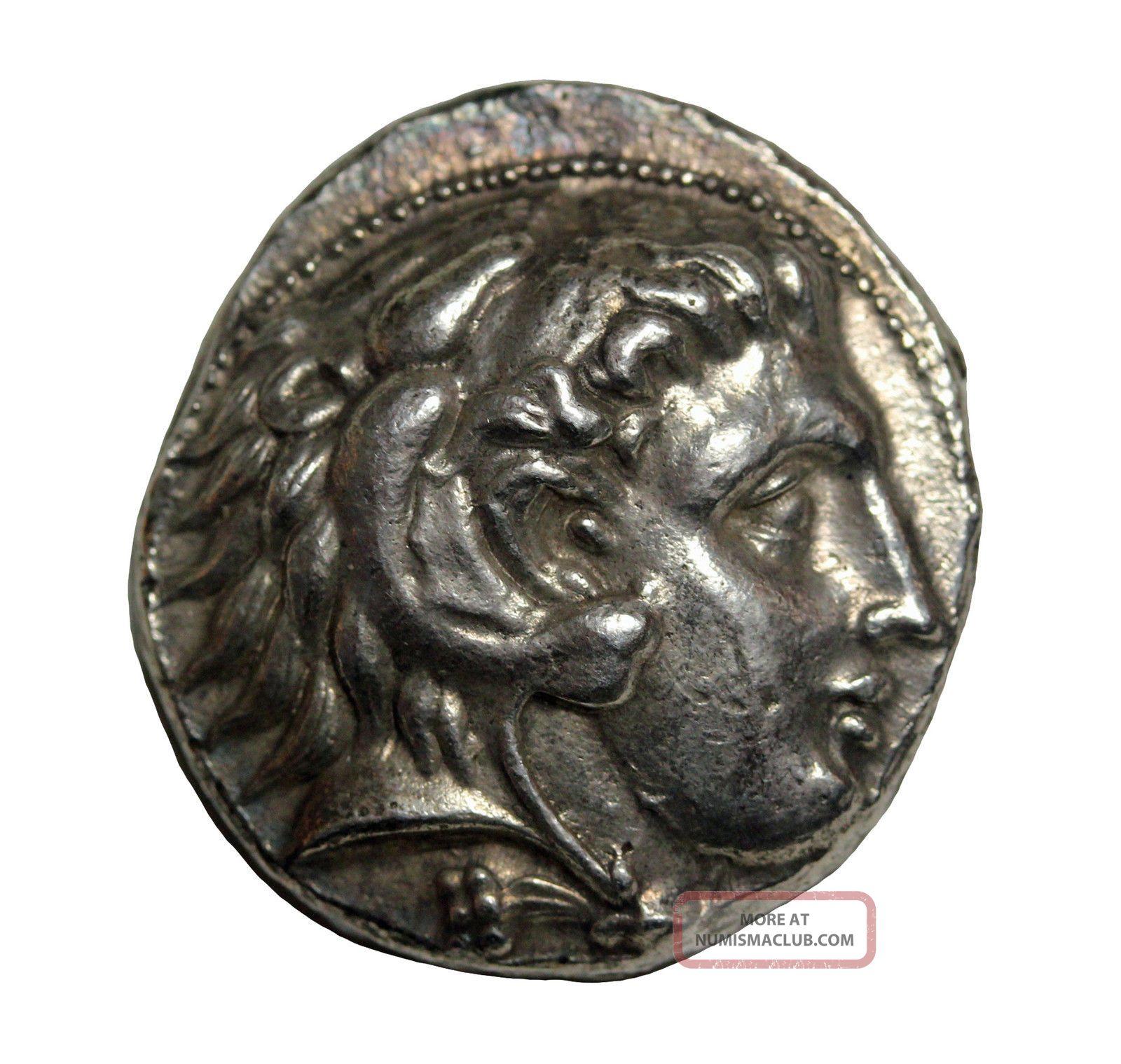 Kings Of Macedon Alexander Iii The Great Ar Tetradrachm 336 - 323bc Citium Coins: Ancient photo