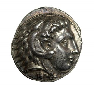 Kings Of Macedon Alexander Iii The Great Ar Tetradrachm 336 - 323bc Citium photo