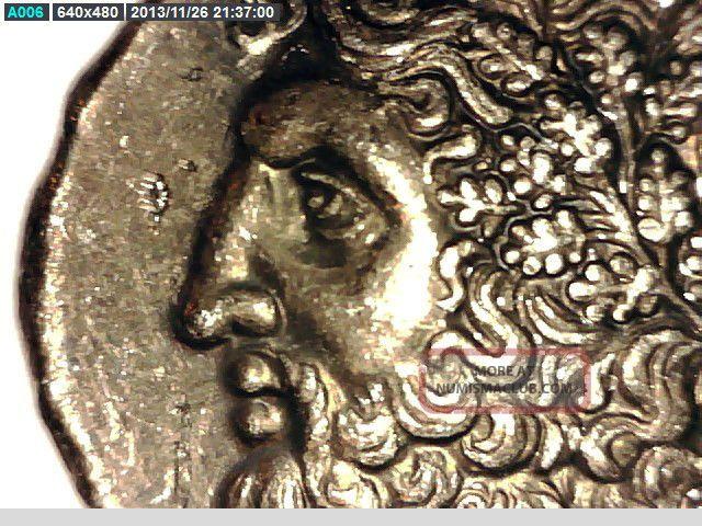 2rooks Greece,  Greek King Pyrrhos Tetradrachm Zeus / Dione Ex.  Rare Coin Coins: Ancient photo