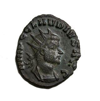 Claudius Ii Gothicus 268 - 270 Ad Ae Antoninianus Rome Ancient Roman Coin Ric.  11 photo