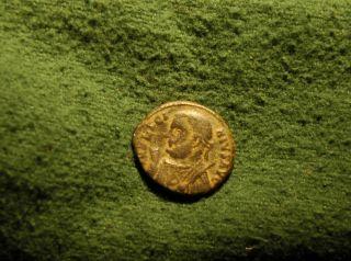 Scarce Licinius Follis 320 Ad Consular Bust / Jupiter & Captive - Maybe Silvered photo