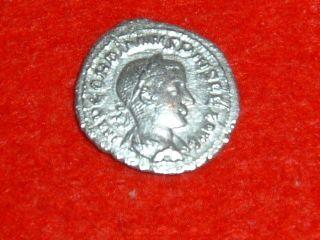 Gordian Iii (a.  D.  238 - 244) Silver Denarius Of Rome Authentic Roman Coin photo