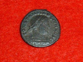 Constantine Ii (a.  D.  337 - 340) Bronze Follis Of Rome Authentic Roman Coin photo