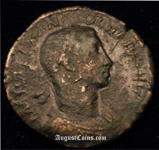 Ng Huge Roman Bronze Coin Of Severus Alexander Spes Hope Goddess Rare I1513 photo