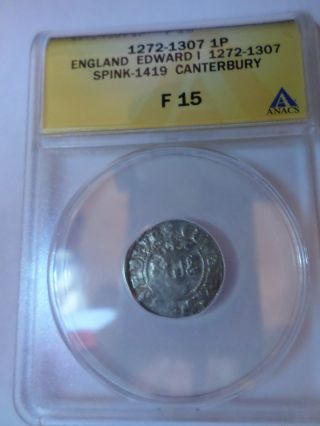Ancient British Coin photo