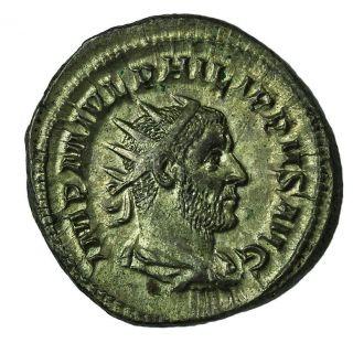 Philip I The Arab Ar Antoninianus 244 - 249 Ad Struck 244 - 247 Ad Ric.  45 Xf Rome photo