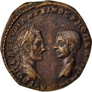 Macrinus And Diadumenianus,  Tetrassaria photo