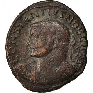 Constantius I,  Follis,  Cohen 63 photo