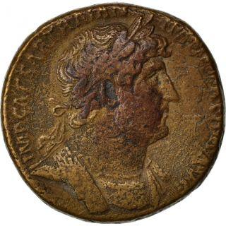 Hadrian,  Sestertius,  Cohen 146 photo