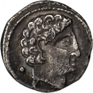Hispania,  Vascones,  Denarius photo