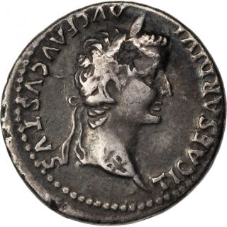 Tiberius,  Denarius,  Cohen 16 photo