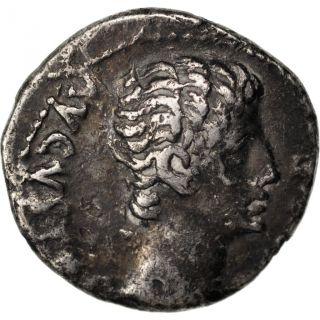Octavius Augustus,  Denarius,  Cohen 147 photo