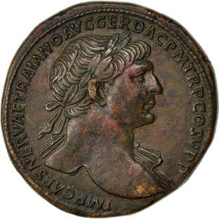 Trajan,  Sesterce photo