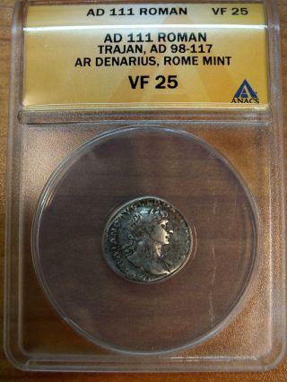 Ad 111 Roman Trajan