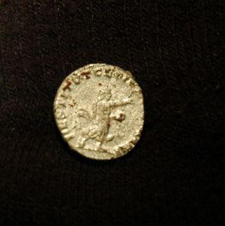 Scarce Valerian Silver Ar Antoninianus - Restorer Of The Human Race 254 - 255 A.  D. photo