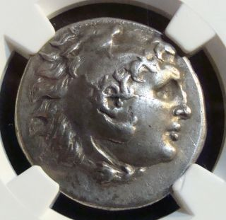 Ancient Greek: Thrace,  Mesambria,  Ar Tetradrachm Circa 280 Bc. ,  Ngc Ch Vf photo