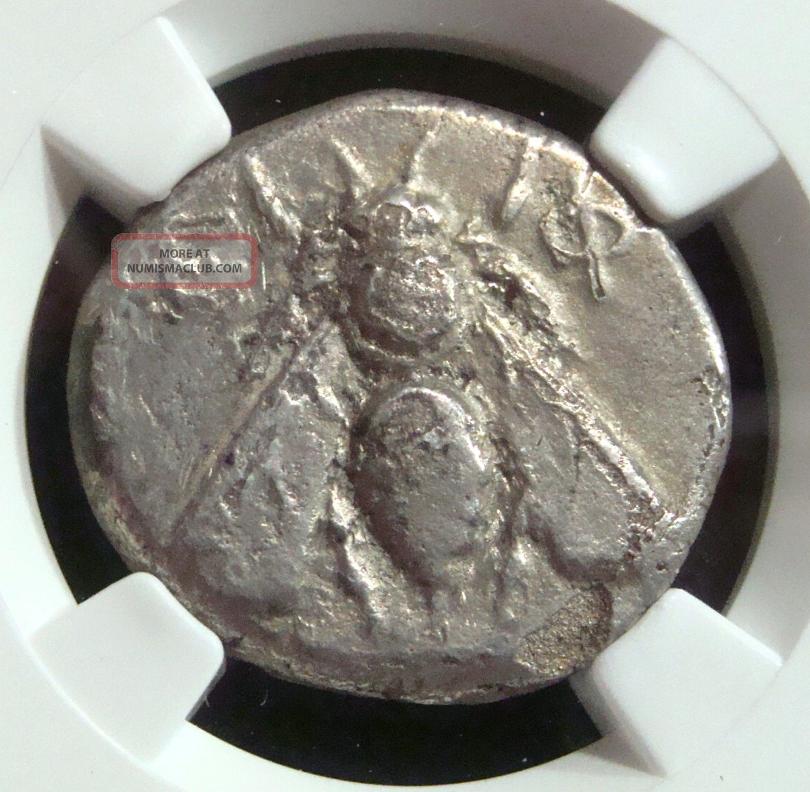Ancient Greek: Ionia,  Ephesus,  Silver Ar Tetradrachm.  4th Cent Bc.  Ngc Vf Coins: Ancient photo
