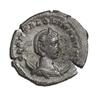 Salonina 254 - 268 Ad Ar Antoninianus Rome Ancient Roman Coin Ric.  39 photo