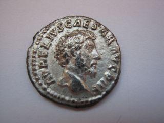 Roman Silver Denarius Of Imp.  Marcus Aurelius,  161 - 180 A.  D. photo