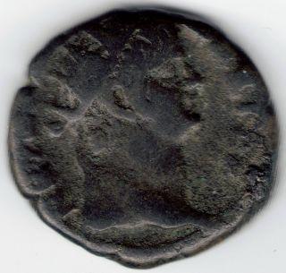 Tmm 54 - 68 Ad Greek Imperial,  Billon Tetradram,  Emperor Nero F/vf 21 - 22 Mm photo
