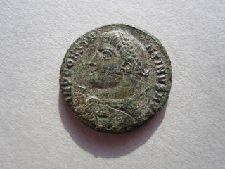 Constantinus I 301 - 337 Ad Authentic Ancient Bronze Coin photo
