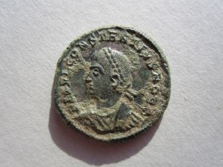Constantine Ii 316 - 340 Ad,  Authentic Ancient Bronze Coin Rare photo