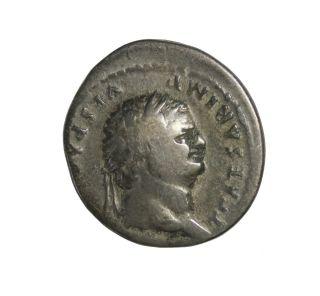 Titus As Caesar Ar Denarius Rome 76 Ad Ancient Roman Coin Roman Empire photo