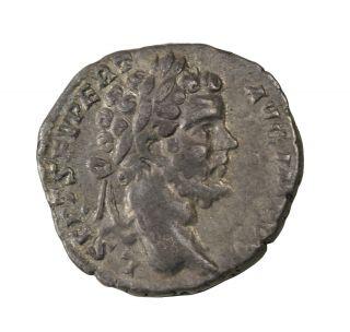 Septimius Severus 193 - 211 Ad Ar Denarius Rome Ancient Roman Coin Ric.  69 photo