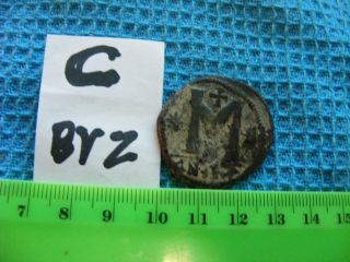 Large (32mm) Byzantine Coin,  Eastern Roman Empire,  Ancient. .  (c - Byz) photo