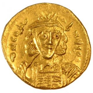 Bysantine Empire,  Constantin Iv,  Solidus photo