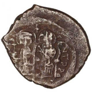 Bysantine Empire,  Tibère Ii Constantin,  Demi Follis photo