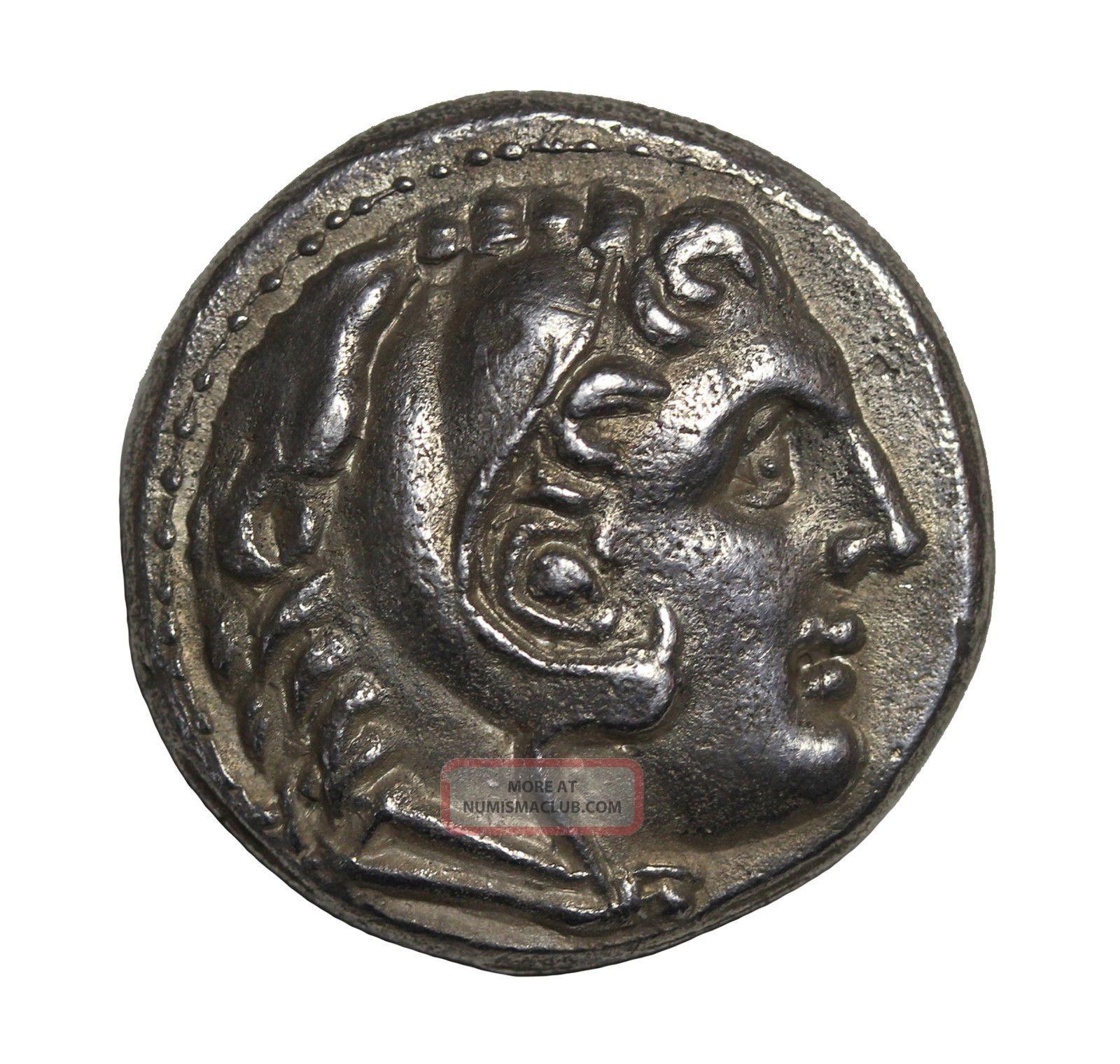 Kings Of Macedon Alexander The Great Ar Tetradrachm 336 - 323 Bc Amphipolis Coins: Ancient photo