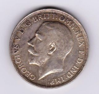 Gb Kgv 1914 Florin photo